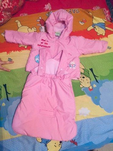 Продаю комбинезон конверт на малыша 3-6 месяцев, розовый, почти новый