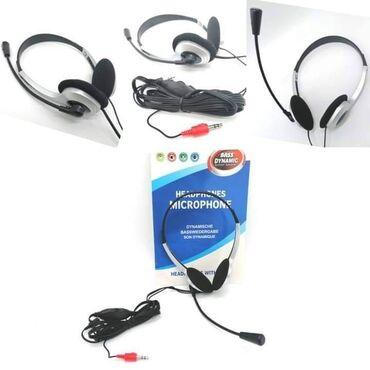 900din Slušalice sa mikrofonom Uživajte u stereo muziciSavršene za