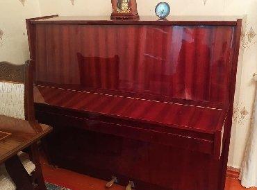 ev alqi satqisi vergisi - Azərbaycan: Pianino. 1976ci ilin. Kuban. Koklenmeyib. Cox yaxwi veziyyetde