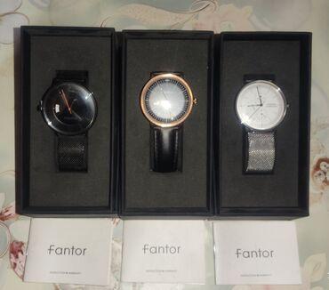 Qol saatları - Saray: Tam Orjinal Fantor Firmasının saatları pasporuna qədər var. Təzədir