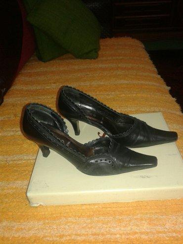 Udobne kozne cipele, nosene u solidnom stanju - Valjevo