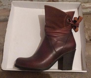 Ботинки демисезонные. Кожа. Покупала в в Бишкек