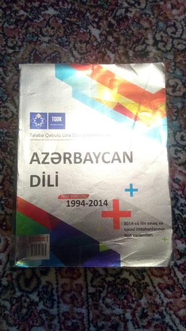 test-toplusu - Azərbaycan: AlAzerbaycan dili test toplusu TQDK