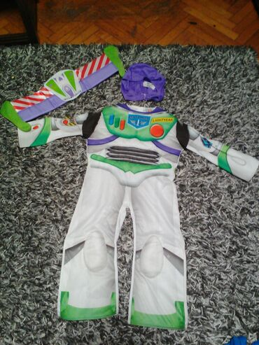Kostim robota iz crtanog filma Toys za decaka Nov iz tri Dela sa
