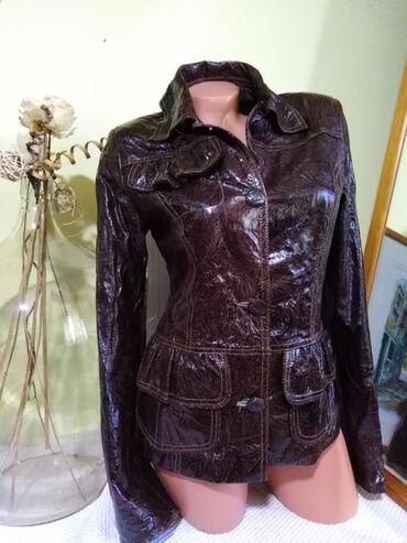 Tehnika - Srbija: RIVA PELLE style ITALY NOVA jakna od prirodne vrhunske kvalitetne