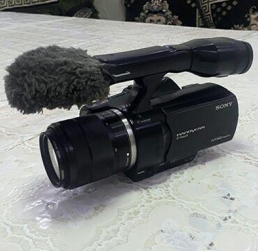 go pro hero 3 в Кыргызстан: Продаю профессиональный sony nex vg 30 с объективом 18-55 батарейка +