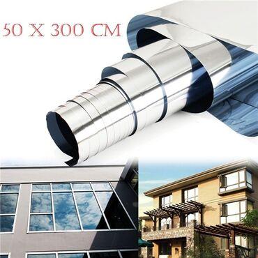 Administrativni poslovi - Srbija: Folija za staklo za efekat ogledala 50 x 300 cm U ponudi i