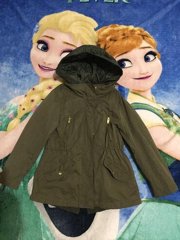 Ski jakna - Srbija: Zara,parka za prelaz,vel.7-8 god.Unutrašnji prsluk i kapuljača se