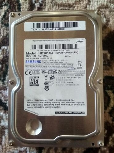 купить-хард-диск в Кыргызстан: Жёсткий диск samsung 160gb #hdd #хард