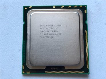 Core i7-960 Socket 1366. Ideal veziyyetde. в Баку