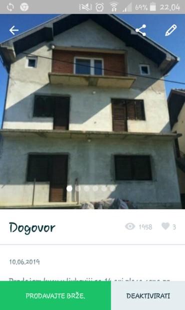 Prodajem kucu u Ljuboviji,cena po dogovoru. - Belgrade