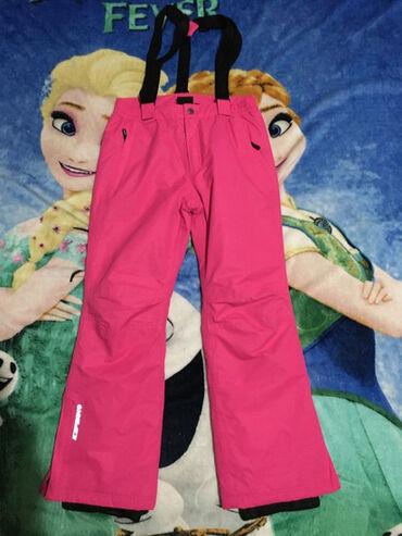 Icepeak ski pantalone,vel.11-12 god.Uslikane dve plavkaste male