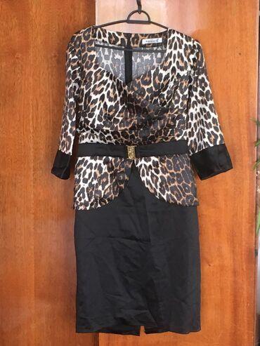 Шикарное платьеплотный атлас, дорого смотрится размер s