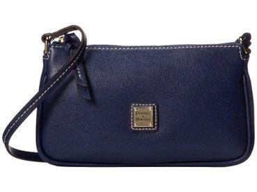 Стильная,кожаная,красивая сумочка от dooney & bourke в синем цвете в Бишкек