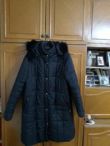 Jakna do kolena - Srbija: Zenska jakna do kolena malo nosena,mala mi je pa je zato prodajem,crne