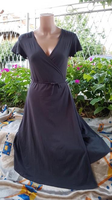 KOTON braon siva pamucna maksi haljina - Pozarevac