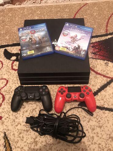 hdmi kabel в Кыргызстан: Консоль Sony PS4 Pro 1 ТБ, комплект 4K, 6 игр + 2 контроллера