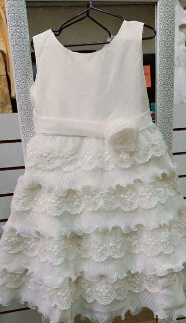 Новое белое платье на прокат размеры в Бишкек