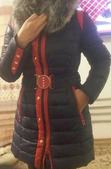 куртка очень тёплая,  в хорошем состоянии в Бишкек