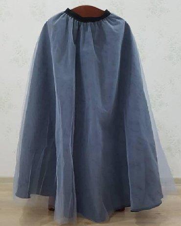 Срочная цена 2500 сом. Дизайнерская юбка в пол с эффектом