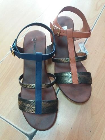 Zenske sandale sa blagom ortopedskom petom - Belgrade