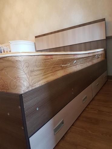 Продаю двухспальную кровать. Покупали в Бишкек