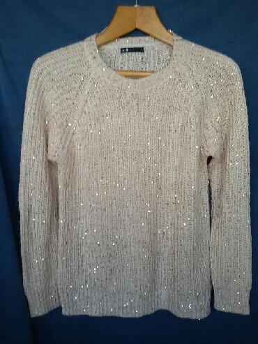 sumku oodji в Кыргызстан: Новый теплый свитер с паетками, 48-50р. Брендовая вещь. Очень теплый и