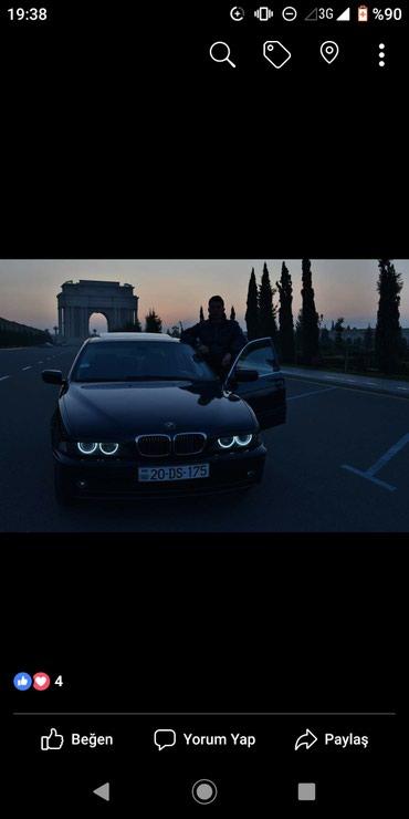 Gəncə şəhərində BMW 530 2001
