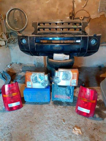 Land Rover discovery 3 .qabaq yan krlolarqabaq bumper,qabaq ve arxa