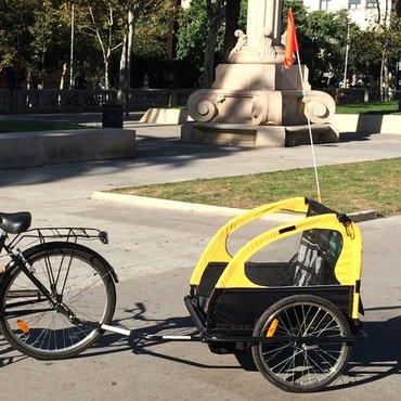 Велокаляска складная. в Бишкек