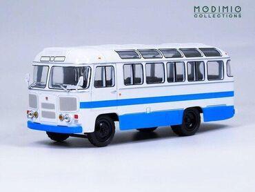 МОДЕЛЬ автобуса ПАЗ-672М МАСШТАБ 1:43 MODIMIO