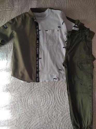 Zara πουκάμισο λάδι άριστη κατάσταση 5 ευρώ - zara παντελόνι λάδι