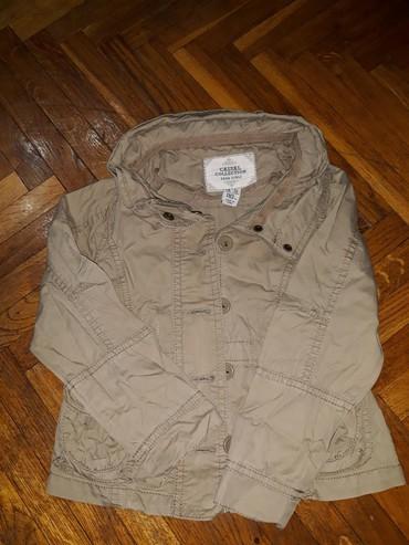 Perika - Beograd: Zara jakna, mantilic, velicina 104-110. Tanja jaknica za prelazni peri