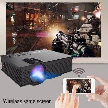 projector - Azərbaycan: Sineması multimedya projector 80 Ansi Hd 1080P Video dahili Hifi