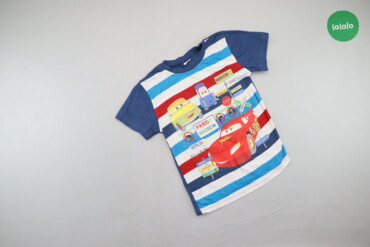 Дитяча футболка Тачки, зріст 128 см.   Довжина: 47 см Напівобхват груд