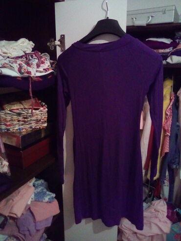 Duga haljina - Srbija: Pamucna haljinica dug rukav