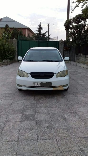 Bakı şəhərində BYD F3 2008