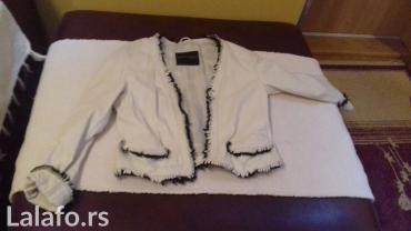 Italijanska-kozna-crna-jakna - Srbija: Zenska kozna jakna prava koza vel44 italijanska nasa 40.noje ostecena
