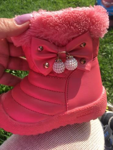 Новые сапоги на девочку,размер 23(Бишкек) в Чаек