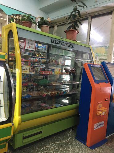 саб в Кыргызстан: Холодильник-витрина Зеленый холодильник
