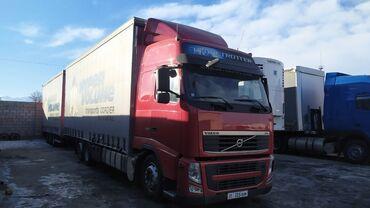 прицеп автомобильный в Кыргызстан: Volvo 460 автомат тандем 2012 год прицеп 2010 год саф мосты дисковые