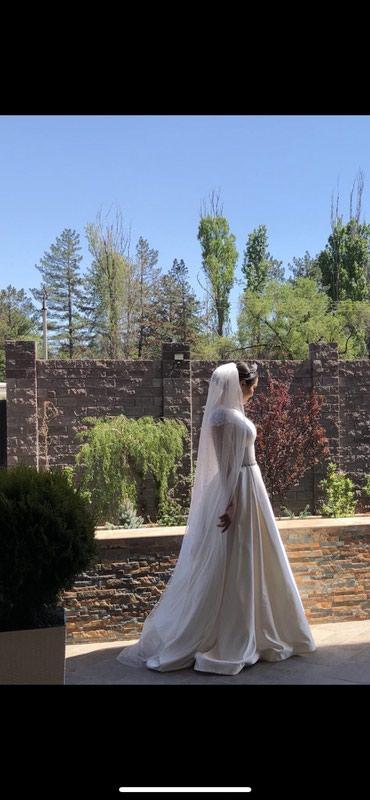 Свадебное платье из королевского в Бишкек