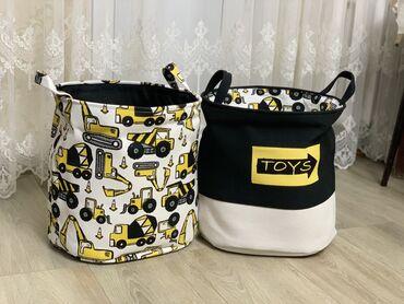 Продаю новые корзины для хранения игрушек, продаю в Бишкеке, купить