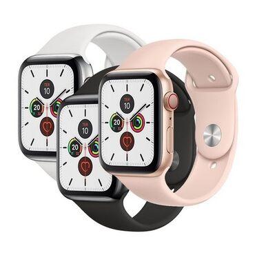 Gümüşü Uniseks Qol saatları Apple
