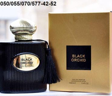 Bakı şəhərində Tom Ford Black Orchid Eau De Parfum for Men kişi ətrinin dubay