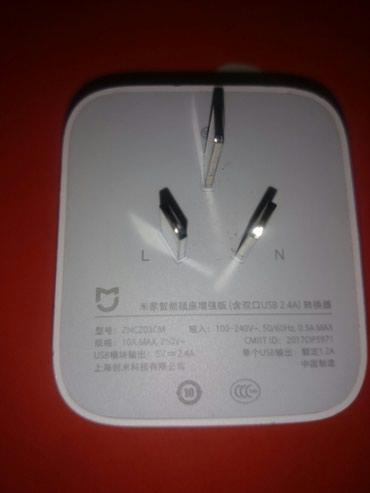 Bakı şəhərində Xiomi zncz03cm madeli axili wifi adaptor rizetka 2usb 2.4a rizetka