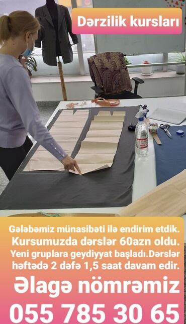 Suruculuk kurslari genclik - Азербайджан: DƏRZİLİK kursları