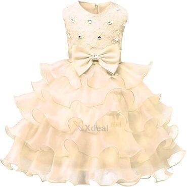 Balska haljinica za princeze – Krem2000 rsd12-18 m3-9mDivna, raskošna