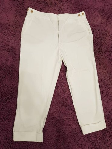 Продаю брюки женские, белого цвета, в Бишкек