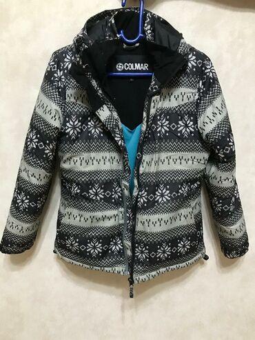 Продаю теплую зимнюю куртку. Размер S, M. Цена 800 сом. Звонить на